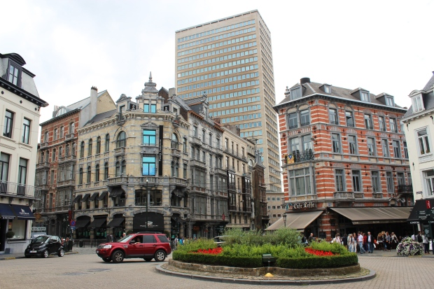 Entorno da Place du Grand Sablon