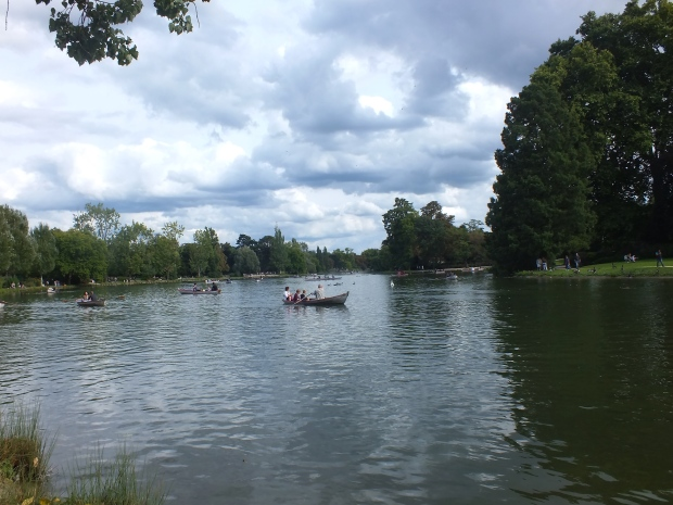 Lago do Bois de Vincennes