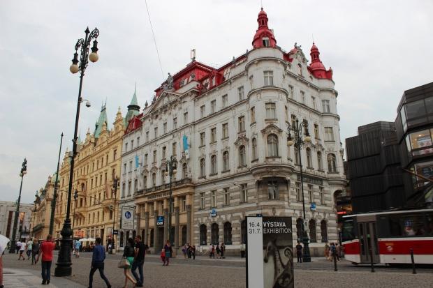 Náměstí Republiky (Praça da República), localizada nas proximidades do hotel