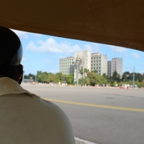 Plaza de la Révolucion vista do Cocotáxi