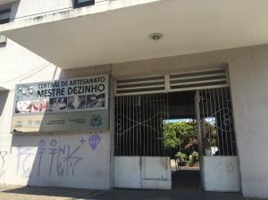 Central de Artesanato Mestre Dezinho, na Praça Pedro II