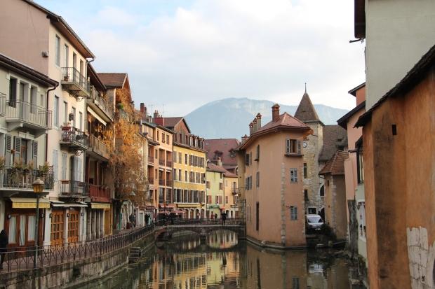 Canal em Annecy